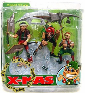 McFarlane Toys Monsters Series 5 Twisted X-Mas Tales Action Figure Santa's Little Helpers