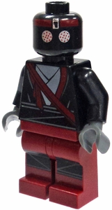 LEGO Teenage Mutant Ninja Turtles LOOSE Mini Figure Foot Soldier  [Dark Red]