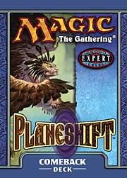 Magic the Gathering Planeshift Theme Deck Comeback