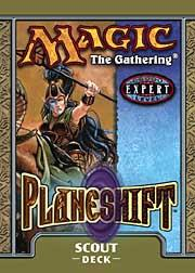 Magic the Gathering Planeshift Theme Deck Scout