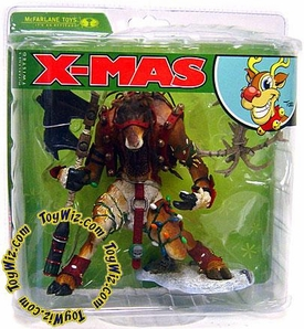 McFarlane Toys Monsters Series 5 Twisted X-Mas Tales Action Figure Reindeer Rudy