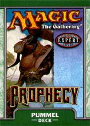 Magic the Gathering Prophecy Theme Deck Pummel
