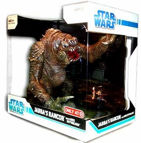 Star Wars 2009 Legacy Collection Exclusive Deluxe Figure Battle Pack Jabba's Rancor with Luke Skywalker