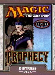 Magic the Gathering Prophecy Theme Deck Distress