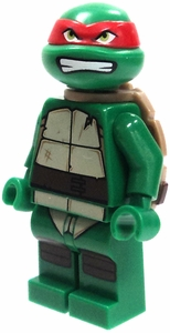 LEGO Teenage Mutant Ninja Turtles LOOSE Mini Figure Raphael [Version 1]