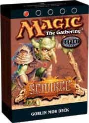 Magic the Gathering Scourge Theme Deck Goblin Mob