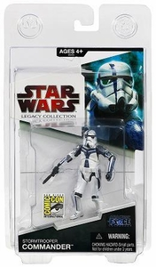 Hasbro 2009 SDCC San Diego Comic-Con Exclusive Star Wars Force Unleashed Action Figure Stormtrooper Commander