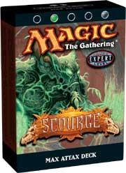Magic the Gathering Scourge Theme Deck Max Attax