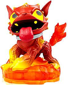 Skylanders Giants LOOSE Figure Hot Dog