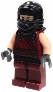LEGO Teenage Mutant Ninja Turtles LOOSE Mini Figure Dark Ninja