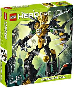 LEGO Hero Factory Set #2282 Rocka XL Damaged Box, Mint Contents!