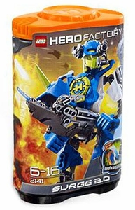LEGO Hero Factory Set #2141 Surge 2.0 [Orange Cap / Blue Figure]