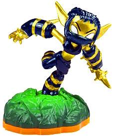Skylanders Giants LOOSE Figure Legendary Stealth Elf