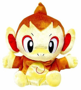 Pokemon DP Japanese Banpresto 5 Inch Plush Hand Puppet Chimchar