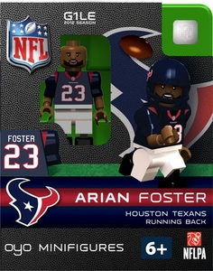 OYO Football NFL Building Brick Minifigure Arian Foster [Houston Texans]