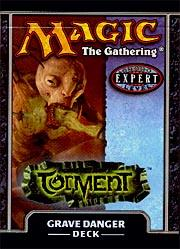 Magic the Gathering Torment Theme Deck Grave Danger