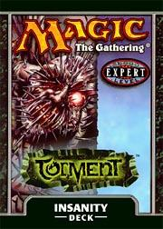 Magic the Gathering Torment Theme Deck Insanity
