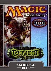Magic the Gathering Torment Theme Deck Sacrilege