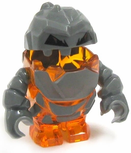 LEGO Power Miners LOOSE Complete Mini Figure Rock Monster Firox [Orange]