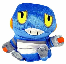 Pokemon DP Japanese Banpresto 5 Inch Plush Hand Puppet Croagunk