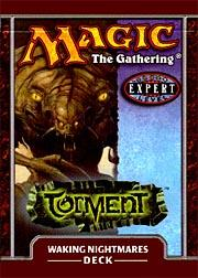 Magic the Gathering Torment Theme Deck Waking Nightmares