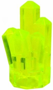 LEGO Power Miners LOOSE Accessory Light Green Crystal