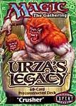 Magic the Gathering Card Game Urza's Legacy Pre-Constructed Theme Deck Crusher