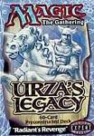 Magic the Gathering Urza's Legacy Theme Deck Radiant's Revenge