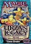 Magic the Gathering Card Game Urza's Legacy Pre-Constructed Theme Deck Time Drain