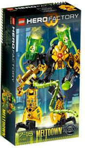 LEGO Hero Factory Set #7148 Meltdown [Yellow]