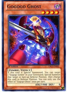 YuGiOh Zexal Cosmo Blazer Single Card Common CBLZ-EN002 Gogogo Ghost