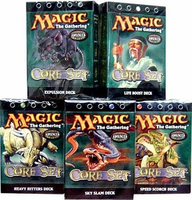 Magic the Gathering Eighth Edition Theme Deck Set of 5 Decks