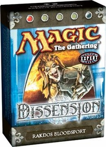 Magic the Gathering Dissension Theme Deck Rakdos Bloodsport