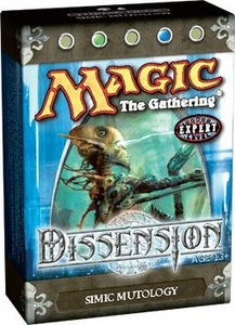 Magic the Gathering Dissension Theme Deck Simic Mutology