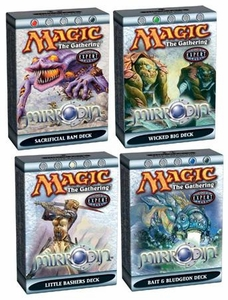 Magic the Gathering Mirrodin Theme Deck Set of 4 Decks