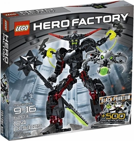 LEGO Hero Factory Set #6203 Black Phantom