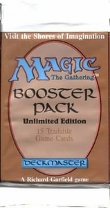 Magic The Gathering Card Game Unlimited Edition Booster Pack