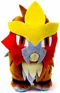 Pokemon Japanese Banpresto 5 Inch Plush Figure Entei