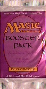 Magic the Gathering Arabian Nights Booster Pack [8 cards]