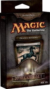Magic the Gathering Magic 2010 (M10) Theme Deck Intro Pack Death's Minions
