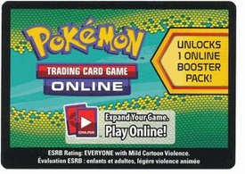 Pokemon Dragons Exalted Promo Code Card for Pokemon TCG Online
