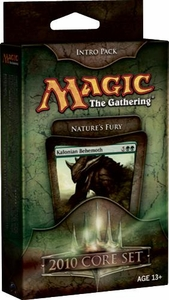 Magic the Gathering Magic 2010 (M10) Theme Deck Intro Pack Nature's Fury