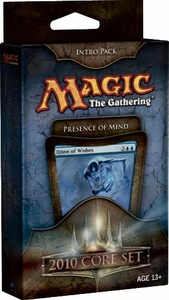 Magic the Gathering Magic 2010 (M10) Theme Deck Intro Pack Presence of Mind