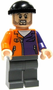 LEGO Batman LOOSE Complete Mini Figure Two-Face Henchman [Orange & Purple Jacket]