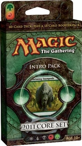 Magic the Gathering M11 2011 Theme Deck Intro Pack Stampede of Beasts