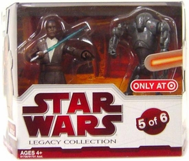 Star Wars 2009 Legacy Collection Geonosis Arena Showdown Exclusive Action Figure 2-Pack Roth-Del & Super Battle Droid [#5 of 6]