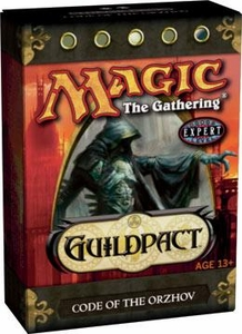 Magic the Gathering Guildpact Theme Deck Code of the Orzhoz