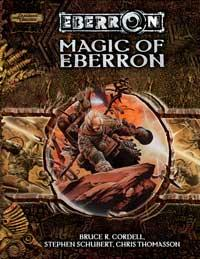 D&D Dungeons & Dragons Eberron Accessory Magic of Eberron