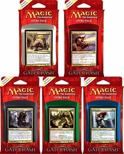 Magic the Gathering Gatecrash Set of 5 Intro Decks