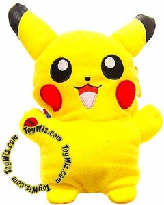 Pokemon Banpresto 5 Inch Plush Light-Up Pouch Figure Pikachu